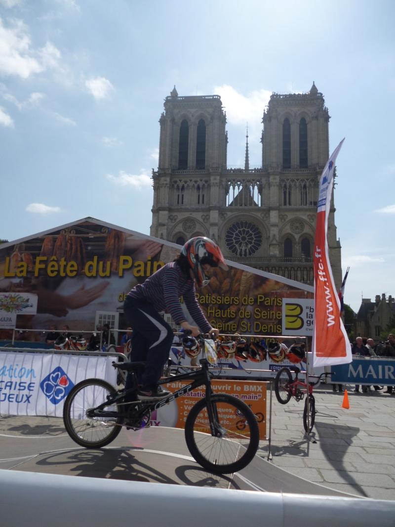 BMX bike course, bread festival, Notre Dame